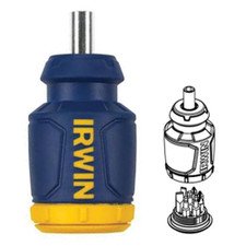 Irwin Tools Stubby 8-in-1 Screwdriver