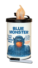 Blue Monster Heavy-Duty Citrus Scrubbing Towels