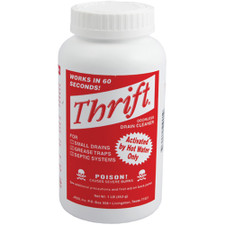 Thrift Alkaline Based Drain Cleaner - 1 Lb.
