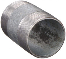 "Galvanized Nipple - 3/8"" x 1-1/2"""
