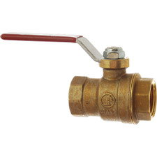 JMF Straight Ball Valve - 3/4""